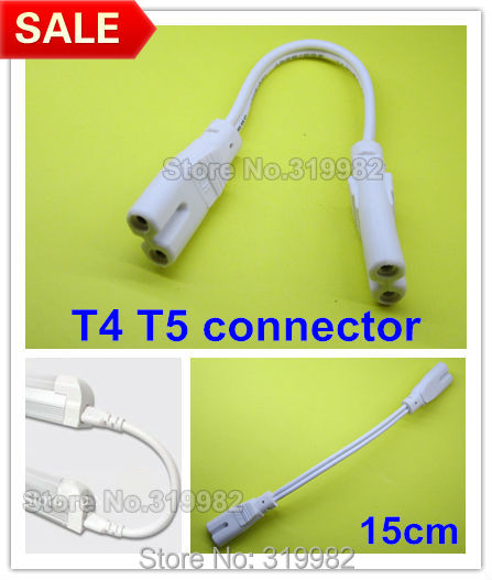 [TVPR_3874]  100pcs/lot, T5 T4 LED tube lamp light plug connector 15cm cable in series T5  Fluorescent lamp double side adapter holder wire|Lamp Bases| - AliExpress | T5 Light Socket Wiring Diagram |  | www.aliexpress.com
