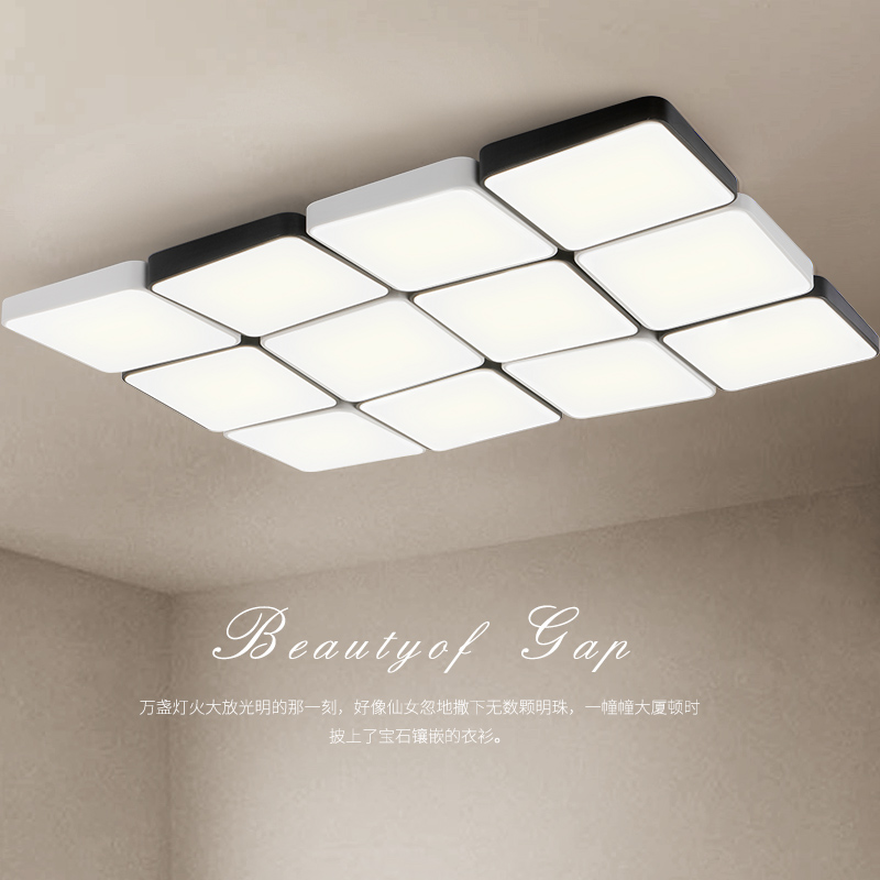 Modern iron acrylic LED ceiling lights home living room lamp creative fixtures ceiling lamps children bedroom