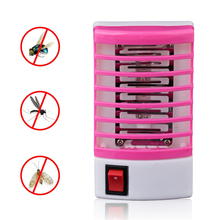 Anti Mosquito Killer Lamps LED Socket Electric Mosquito Fly Bug Insect Trap Killer Zapper Night Lamp Lights lighting EU US Plug