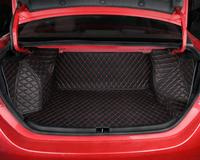 car styling fiber leather car trunk mat for toyota corolla 2013 2014 2015 2016 2017 2018 E170 car accessories