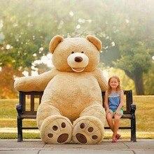 160 см гигантский плюшевый мишка мягкая игрушка большой огромный коричневый плюшевый мягкий игрушка ребенок Дети Кукла Девочка Рождественский подарок