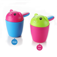 baby shampoo shower cup