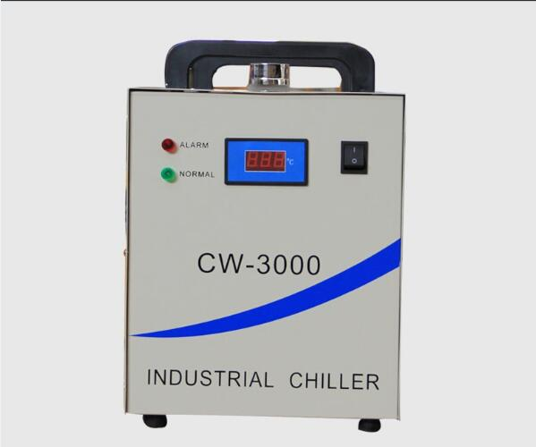 CW3000 Water Chiller Industry Chiller for Cooling 60W 80W Laser Tube of CO2 Laser Engraving Cutting