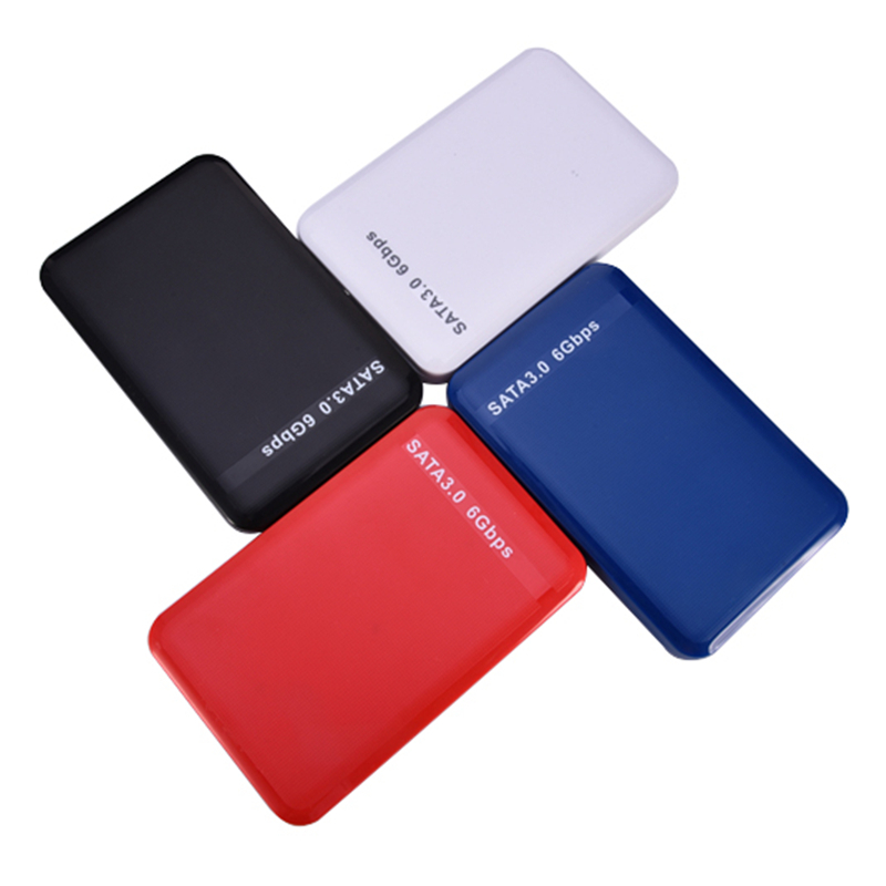 2.5 USB3.0 HDD case External HDD Enclosure Case Tool Free SATA3.0 6 Gbps case Support 3TB UASP Protocol for Notobook Desktop PC