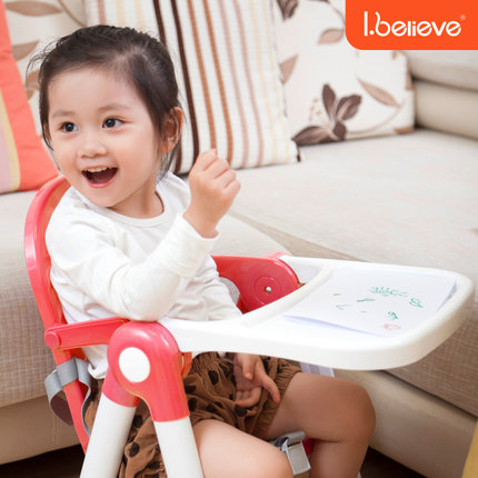 Super light high quality 0-4 years Baby Portable baby high chair Infant dining chair foldable easy carry plastic chair seat