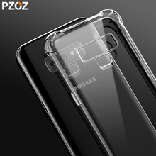 Pzoz Soft Silicone Clear Case for Samsung Galaxy Note 9