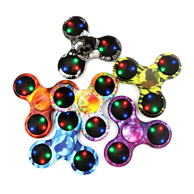 Multi Color LED Fidget Spinner