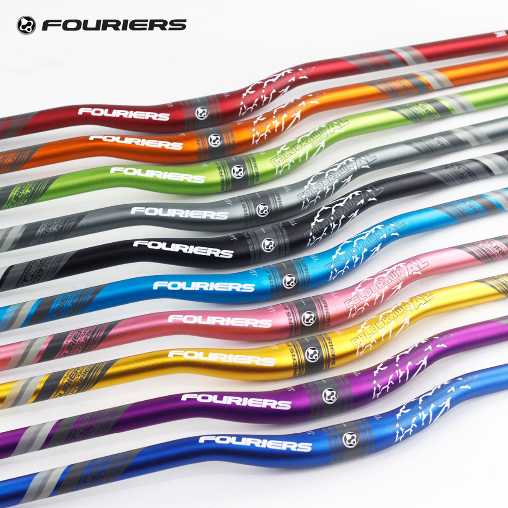 Fouriers Aluminium Alloy Enduro AM FR XC DH MTB Riser Bar Handlebar 31 8mm x 780mm