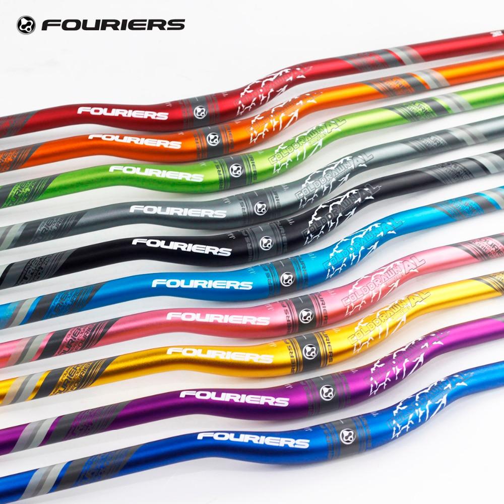 Fouriers Aluminium Alloy Enduro AM FR XC DH MTB Riser Bar Handlebar 31.8mm x 780mm 25mm Rise Longer HandlebarsFouriers Aluminium Alloy Enduro AM FR XC DH MTB Riser Bar Handlebar 31.8mm x 780mm 25mm Rise Longer Handlebars