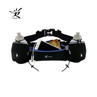 Hydration Belt For Runners With Water Bottles 2 X BPA Free 10oz Running Fuel Belt Runners