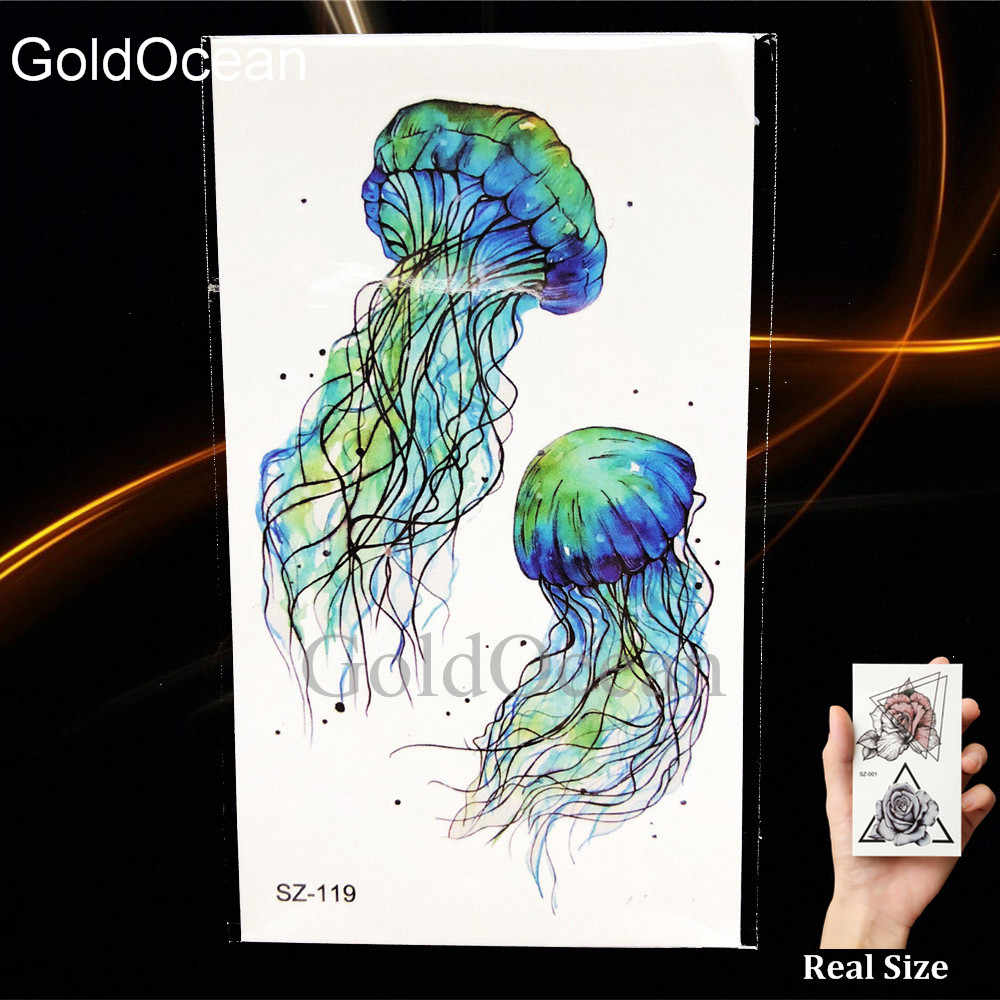 Detail Feedback Questions About Watercolor Jellyfish Tattoo