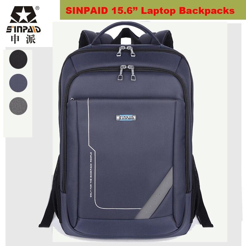 ФОТО SINPAID Brand Laptop Backpacks Tear Resistant Swisswin For 15.6