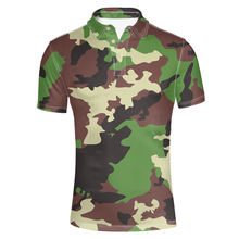 FORUDESIGNS  Shirt Men Clothing Short Sleeve Shirts Male Summer Camouflage Clothes Man  Shirts Casual Lapel Men Top tee