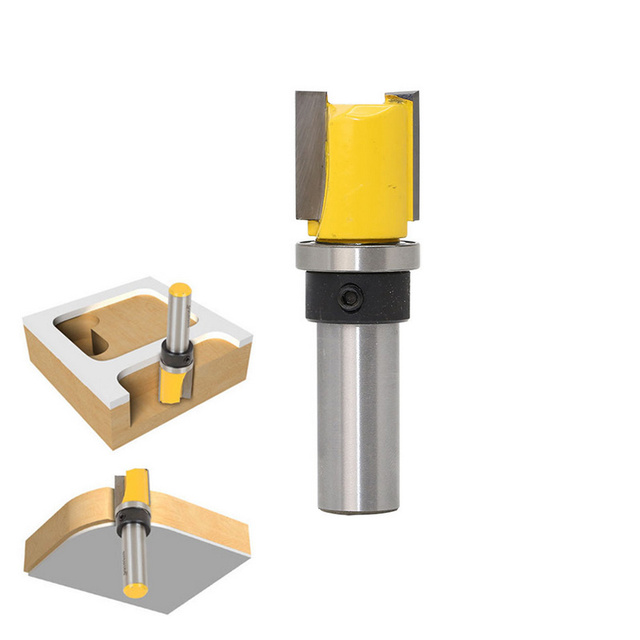 1/2 Inch Shank Template Flush Trim Router Bit Woodworking Milling ...