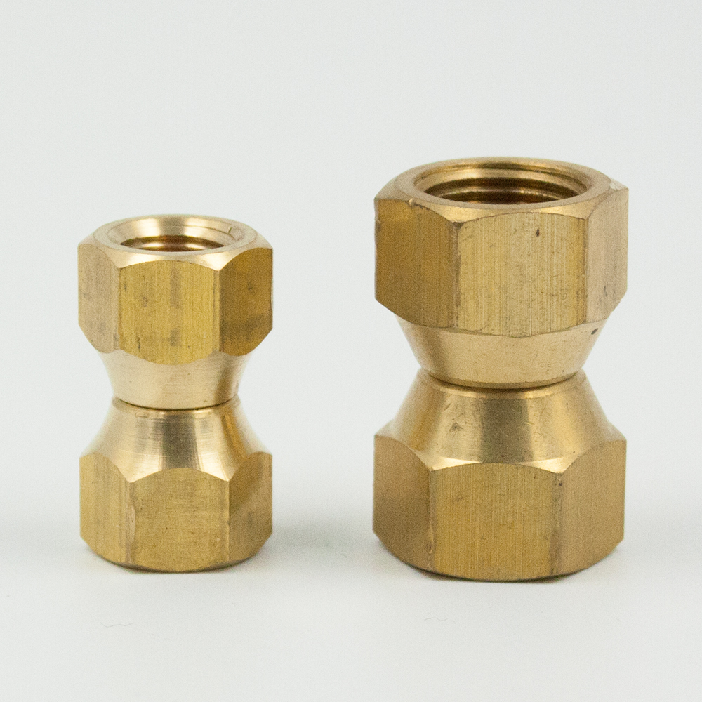 1//2-inch Brass Long Flare Nut Pack of 5