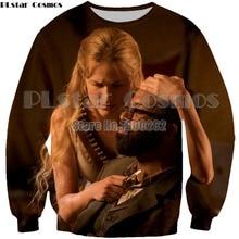 PLstar Cosmos New TV Westworld Casual Dolores 3D Print Geisha Sweatshirt new style fashion hoodies Plus size XS-7XL
