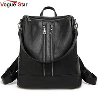 Women Backpack New Arrival Spring Women Backpack Simple Casual School Bag Medium Size Leather Backpack Girl