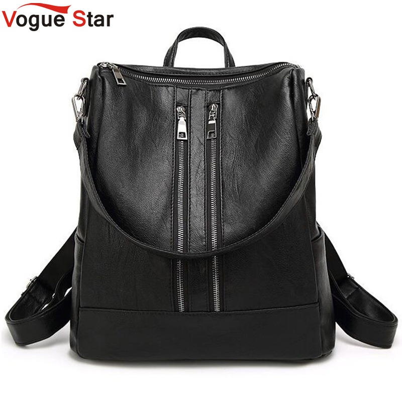 Women Backpack New Arrival Spring Women Backpack Simple Casual School Bag Medium Size Leather Backpack Girl's Daily Bag  LB82 tidog backpack women s casual summer 2016 new school bag leather bag