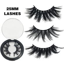 20 Styles Eyelashes Dramatic 25mm Fake Eyelashes Long Full Volume Mink Eyelashes Maquillaje Handmade 3d Eye Lashes 25mm Lashes