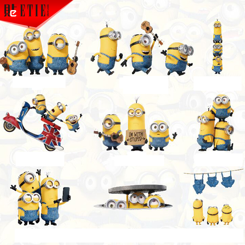 ETIE Minions Car Sticker Funny Vinyl Reflective PrintIing - Minion custom vinyl decals for car