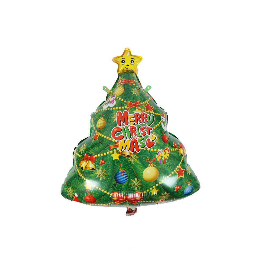 Christmas Tree Balloons Marry Christmas Decoration Christmas Party ...