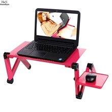 Homdox Популярный Ноутбук Стол 360 Градусов Регулируемая Складная Портативный Ноутбук PC Стол Стол Черный Стенд Портативный Кровать Лоток #30-25