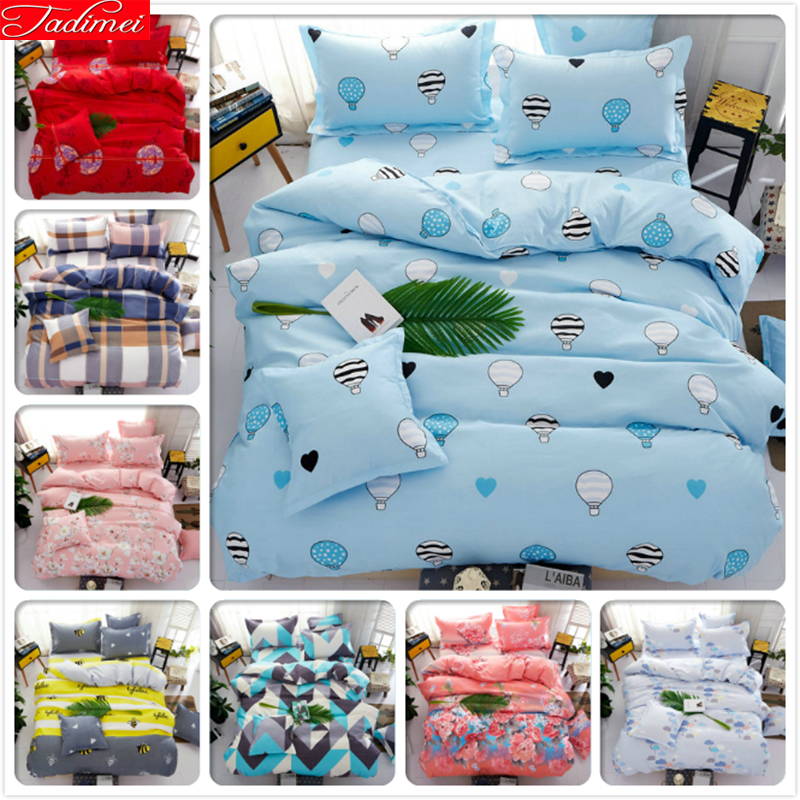 Power Source Sincere Kids Blue 3/4 Pcs Bedding Set Bedclothes 1.5m 1.8m 2.0m Flast Sheet Bed Linens King Queen Double Twin Size Duvet Cover Bedlinens Providing Amenities For The People; Making Life Easier For The Population