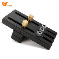 Multi functional Wood Dowelling Jig System Kit 6/8/10mm Drill Bushings Woodworking Tools