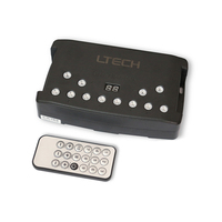 New Led DMX Master Controller IR Wireless Remote 512 Channel RGB led strip Controller Mini USB XLR 3 port 4000 steps