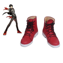 Persona 5 Joker Red Cosplay Shoes Custom Made For Halloween