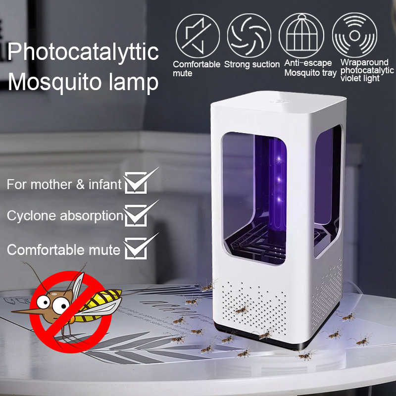 USB Electric Mosquito Killer Lamp LED Fly Mosquito Killer Lamp Photocatalytic Safe Ultra-Quie Bug Zapper Insect TrapUSB Electric Mosquito Killer Lamp LED Fly Mosquito Killer Lamp Photocatalytic Safe Ultra-Quie Bug Zapper Insect Trap