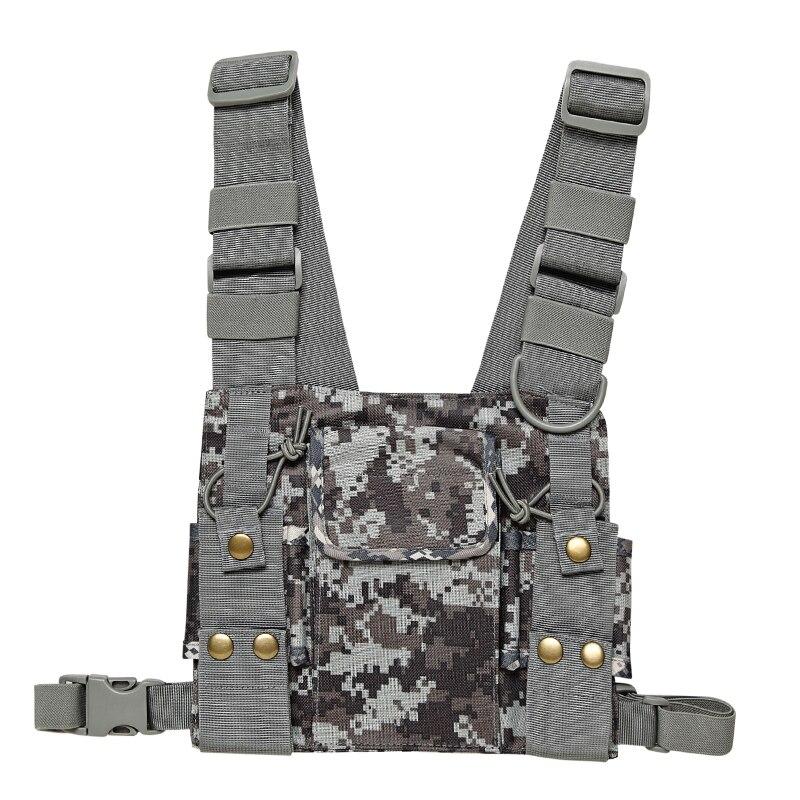 Nylon Radio Universale Del Sacchetto Pacchetto della Cassa Pocket Bag Holder Custodia per Per Baofeng UV-5R UV-82 BF-888S GT-3 Walkie Talkie