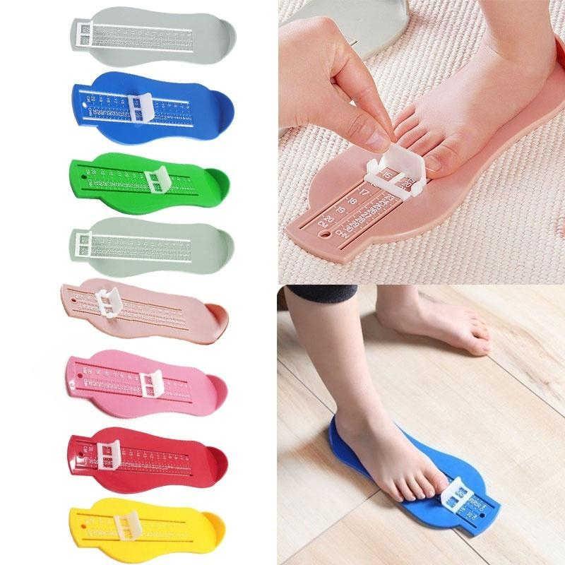 グルーミングキットフット足測定装置靴ゲージ定規キッズ自宅で測定装置子供靴幼児子供便利な足