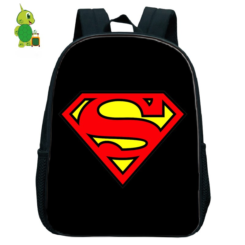 Backpacks Aggressive 2018 New Cartoon Superman Batman Boy Girl School Bag Women Bagpack Teenagers Schoolbags Canvas Men Student Backpack Packsack