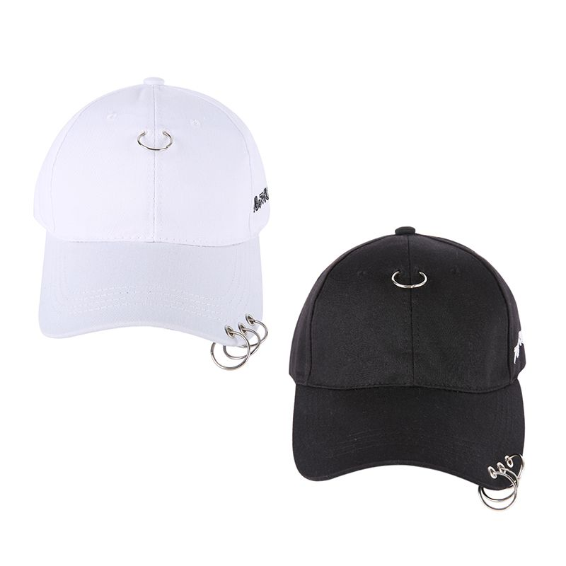 Contemplative 2018 Gd Same Style With A Ring Cap Clip Ring Embroidery Cotton Unisex Snapback Hip Hop Hat Baseball Peaceminusone Cap Golf Caps Golf