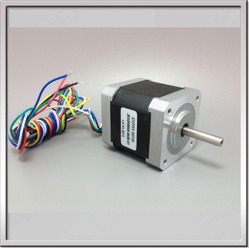 3 ピース バイポーラステッピングモータ 0.9度42 ミリメートル で 6線2相ハイブリッドステッピングモーター nema17 12 ボルト 3.17Kg.cm 0.4a 3000 rpm ステップ モータ  グループ上の 家のリフォーム からの ステッパ モーター の中 1