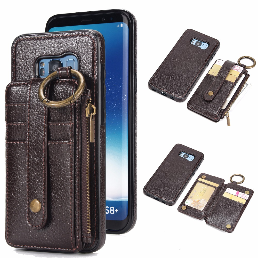Hongmeng Luxury Leather Wallet card 2 in 1 Phone Case For samsung font b galaxy b