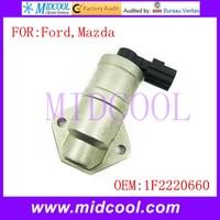 Nueva válvula de Control de aire de reposo automático 1F2220660 1F2220660A 1F2220660B 1L5E9F715AB 1L5Z9F715AA 2L5Z9F715BA para Ford Mazda oes     -