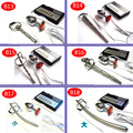 6 size choose electro sex anal plug electric with penis plug electric butt plug tail urethral sound electro stimulation for man