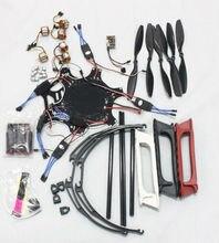 JMT F550 Drone FlameWheel Kit With QQ ESC Motor Carbon Fiber Propellers +Tall Landing Skid PTZ Aerial FPV