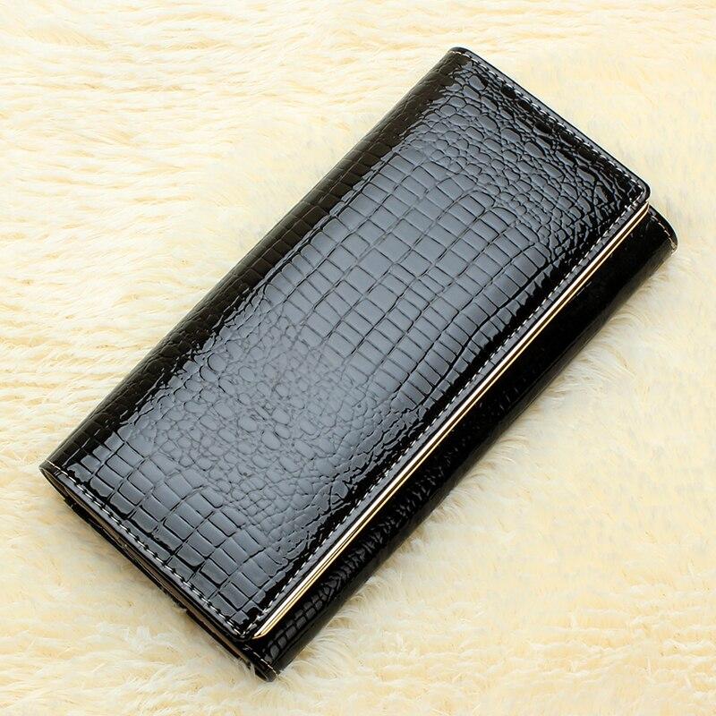 couro genuíno para mulheres carteiras Material Principal : Couro Genuíno