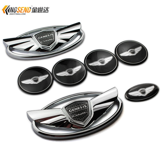 Genesis Car Logo >> Us 19 98 Car Stikers For Hyundai Genesis Genesis Coupe Car Logo Modified Genesis Coupe Modified Emblems Around Car Styling On Aliexpress Com