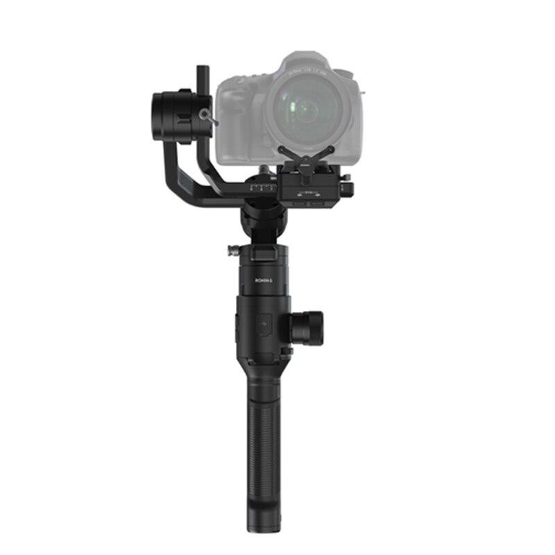 Stabilisateur de cardan portable 3 axes DJI Ronin S pour Sony A7 A9 Canon 5D 1D 6D 7D GH4 GH5 Nikon D850 D750 appareils photo reflex numériques