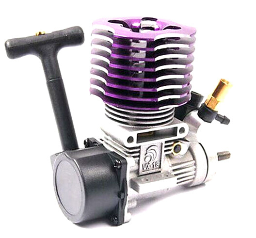 free shipping 02060 Purple HSP 18 Nitro Engine 2.74cc 1:10 Rc Car Buggy Truck SH ENGINES EG630 free shipping rc car 1 10 hsp 02060 bl vx 18 engine 2 74cc pull starter blue for rc 1 10 nitro car buggy truck 94122 94166 94188