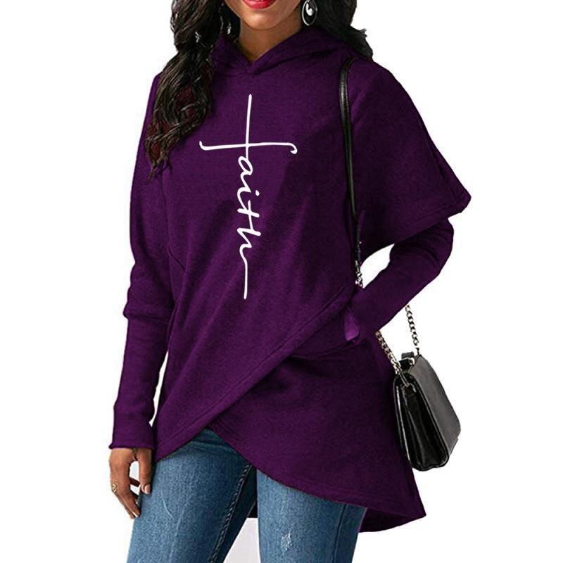 High-Quality-Large-Size-2018-New-Fashion-Faith-Print-Kawaii-Sweatshirt-Femmes-Hoodies-Women-Youth-Female