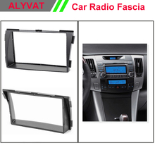 top quality Car CD DVD GPS Radio stereo face facia fascia surround trim frame for HYUNDAI Sonata (NF) 2008-2010 2-DIN