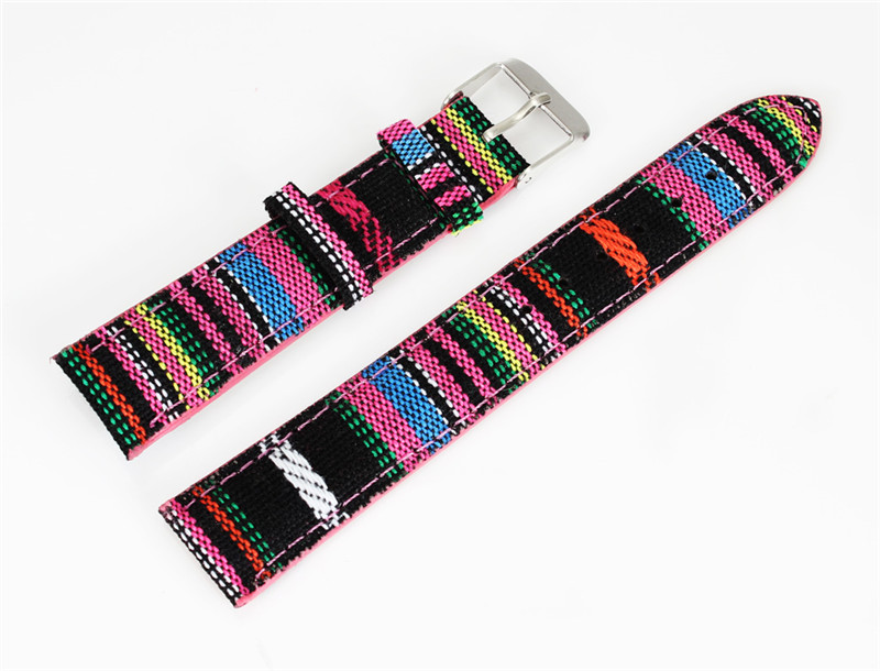 2018 Good Quality Watch Strap Nylon Colorful band for wristwatch цена и фото