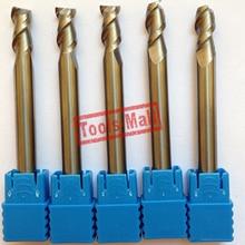 1 шт. 6 мм D6* 15* D6* 50 HRC50 2 флейты фрезы для алюминия с ЧПУ Инструменты твердосплавные ЧПУ плоские фрезы Фрезы