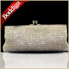 Luxus Marke Frauen Diamant Tag Kupplung Licht Gold Weichen Kristall abendtaschen Silber Hochzeit Kupplung Weiche Dhl-freies 80160
