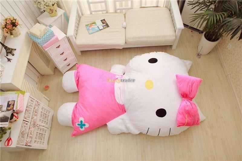 Fancytrader 200cm X 150cm Huge Giant Cute Pink Hello Kitty Tatami Bed Carpet Sofa, Gift For Girls, Free Shipping FT90292 (6)